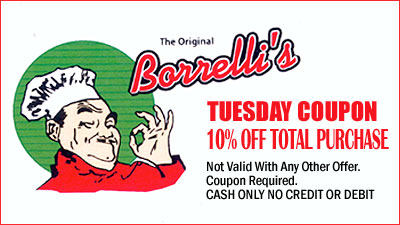 Tuesday Coupon Offer